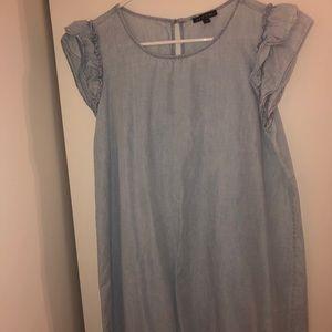 AS U WISH women's blue dress